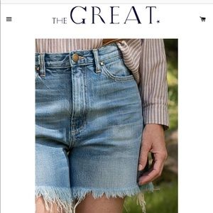 NWT! The Great Short